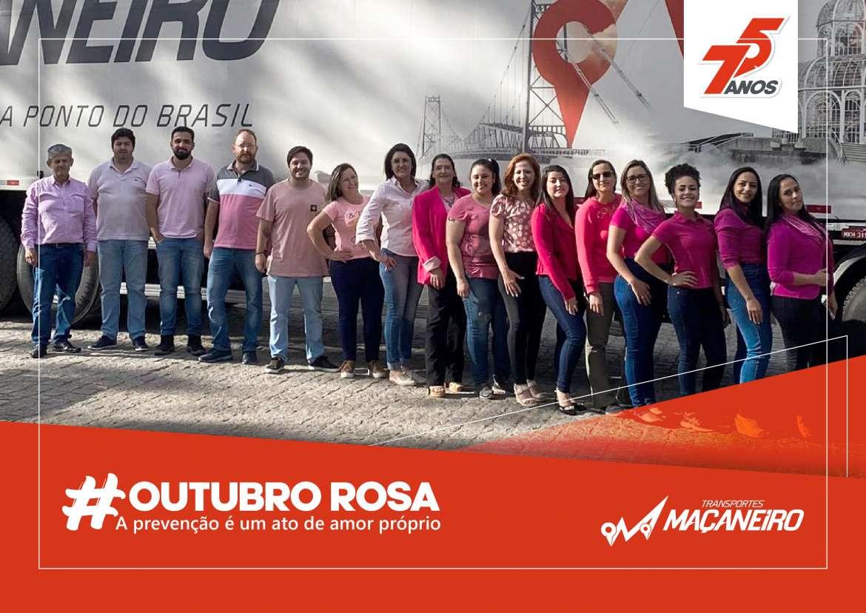 Outubro Rosa – Transportes Maçaneiro