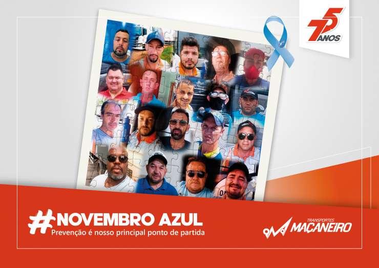 Novembro Azul – Transportes Maçaneiro