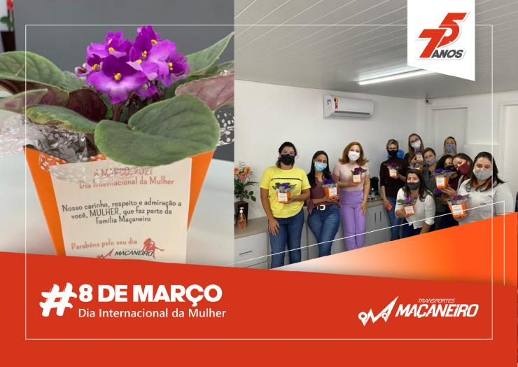 Dia Internacional da Mulher – 8 de Março